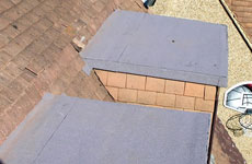 Image of attic roofs